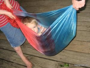 play silk sling