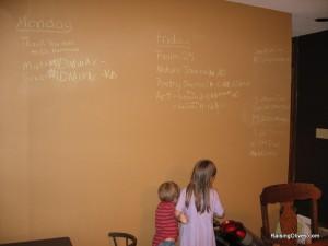 Chalkboard wall 2