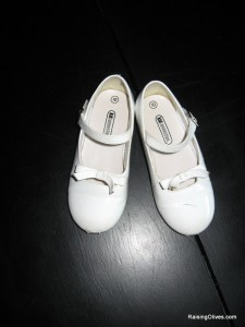 Savannah white shoes