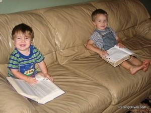 nick and colby reading