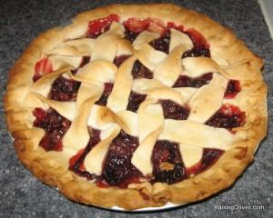 cranberry pie, thankgiving, recipe
