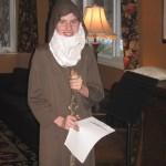 Kaitlin (13) as Abraham