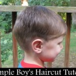 Simple boy's haircut hair cut nicholas
