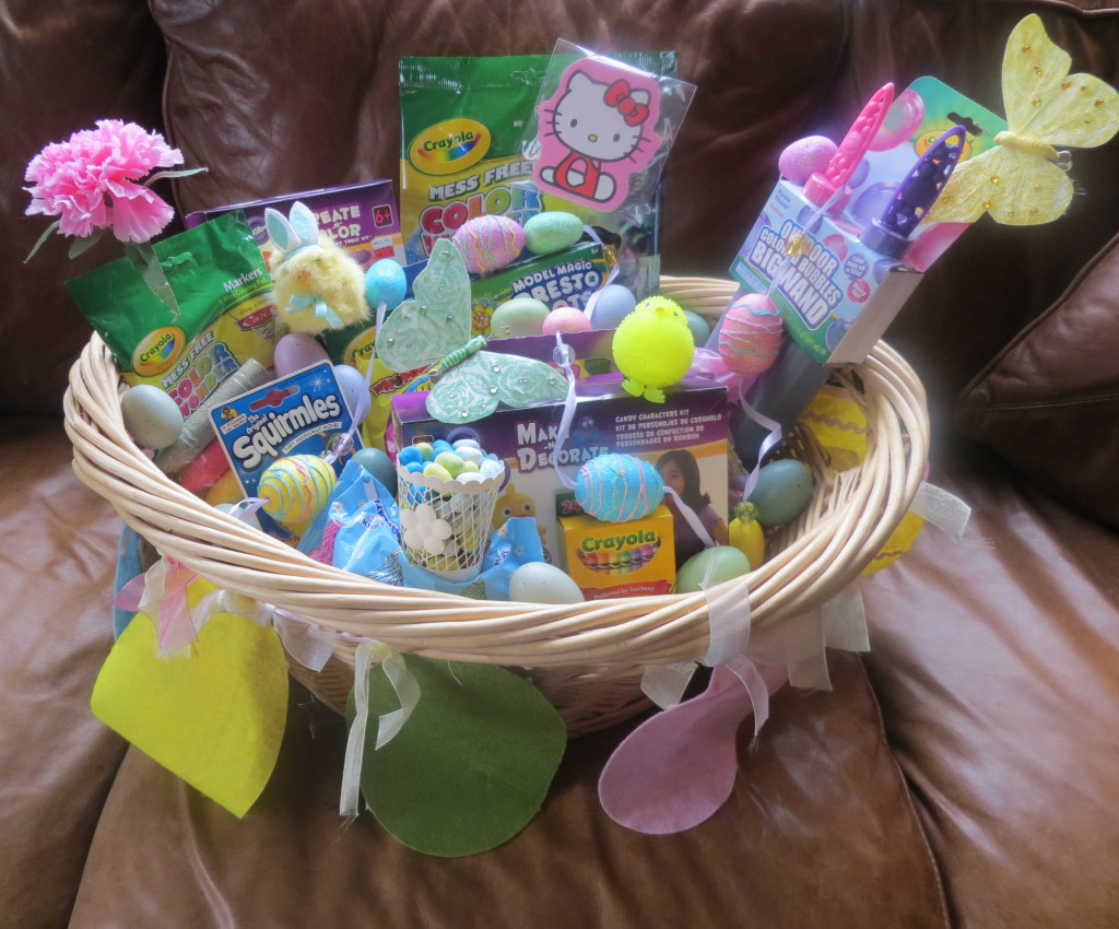 Crayola ultimate easter basket