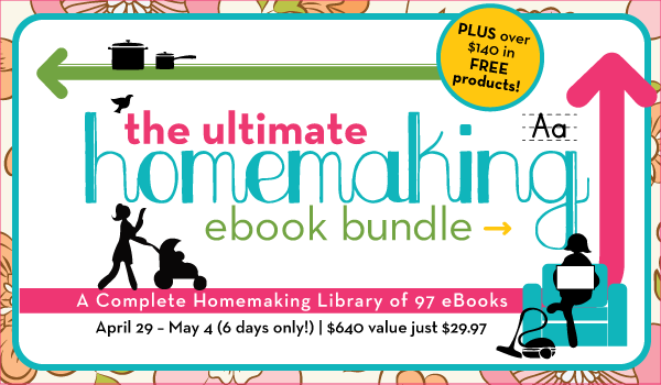 homemaking ebook bundle