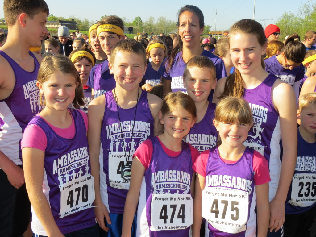 Back: Alyssa (12), Matthew (13), Carter (11), Kaitlin (15) Front: Sadie (9) and Savannah (8)