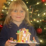 Bella gingerbread house