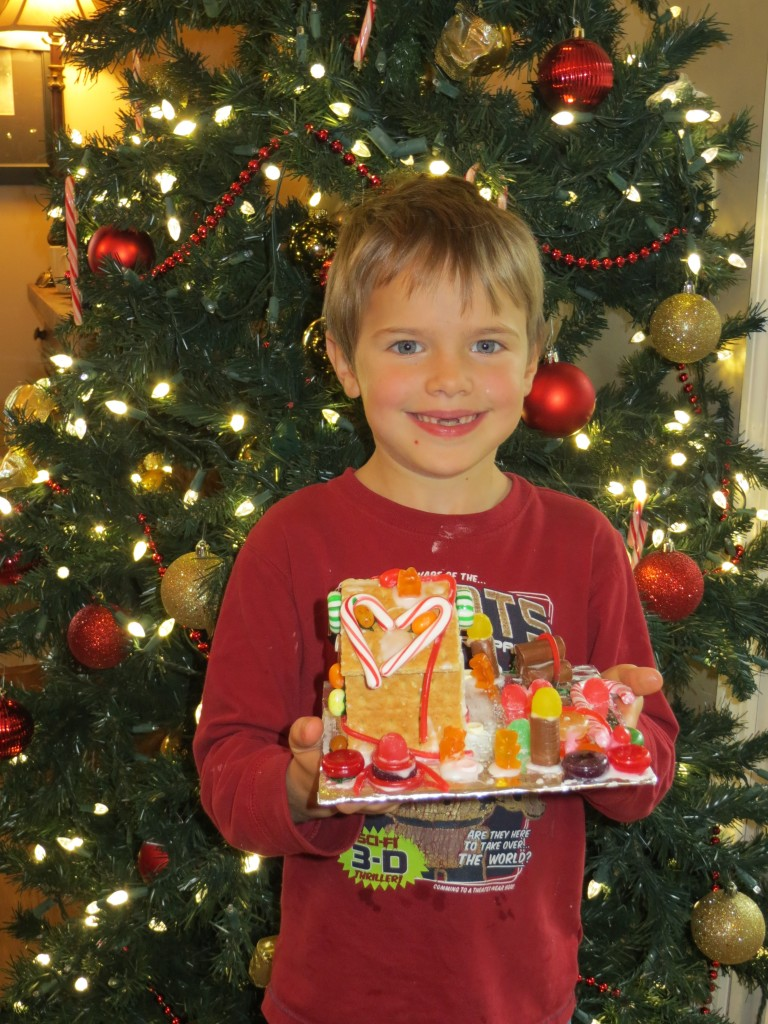colby gingerbread house