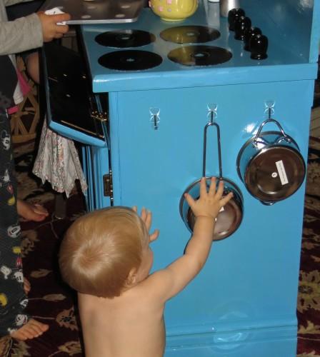 play kitchen hooks