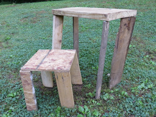 Colby's table and chairs