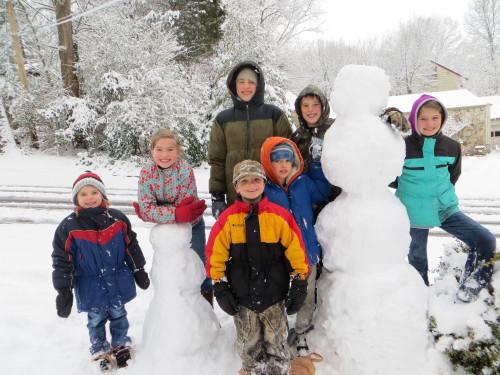 snow snowmen